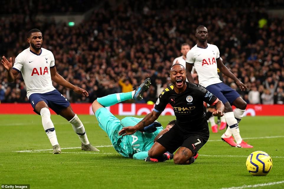 Tottenham 2-0 Man City Sterling an va