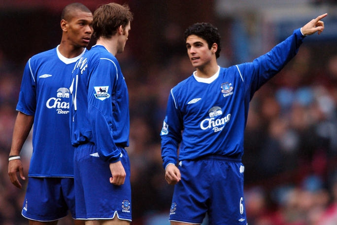 Arteta loan Everton