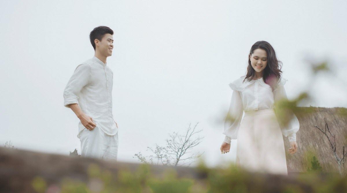 Ảnh cưới đẹp như phim Hàn Quốc của Duy Mạnh và Quỳnh Anh 3