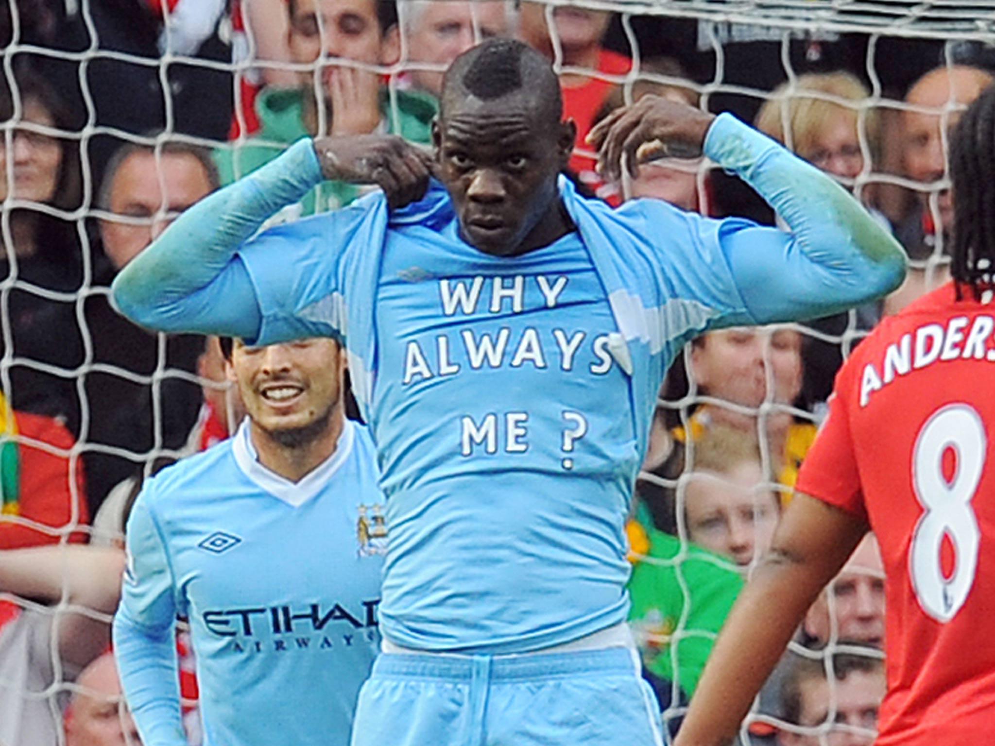 Mario Balotelli why always me