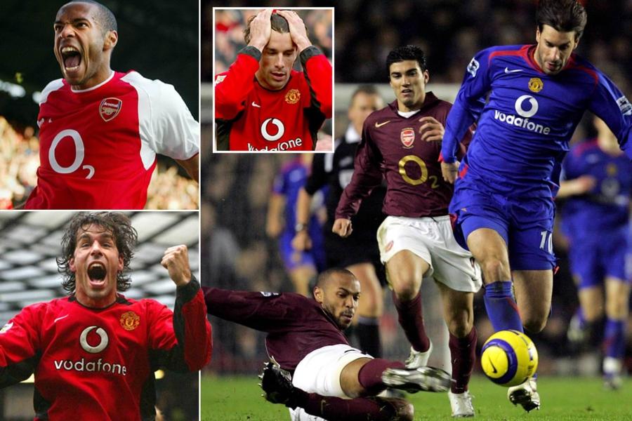 Henry vs Nistelrooy