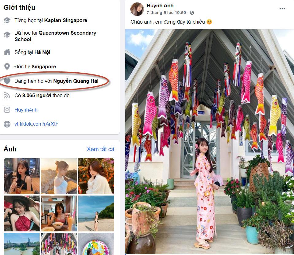 Hot girl Huỳnh Anh, người yêu mới của Quang Hải là ai hình ảnh 2