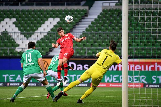 Kai Havertz cua Leverkusen
