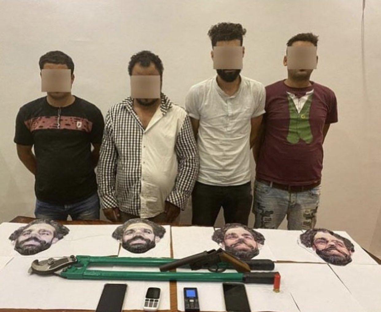 Hài hước Băng cướp Ai Cập đeo mặt nạ Salah đúng chuẩn… Money Heist hình ảnh gốc 2