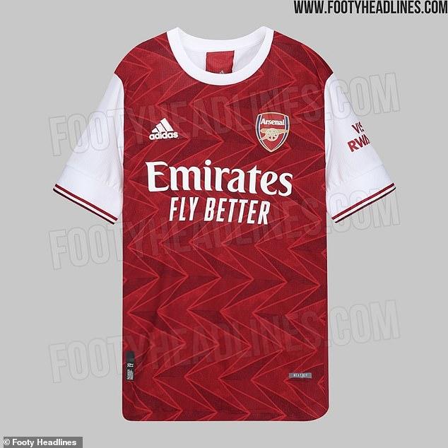 ao dau Arsenal mua giai 2020/21