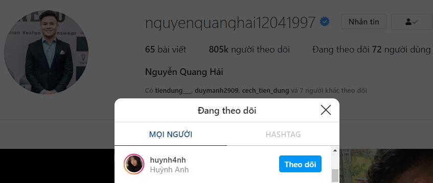 Quang Hải công khai bạn gái mới bằng cách đánh dấu chủ quyền hình ảnh