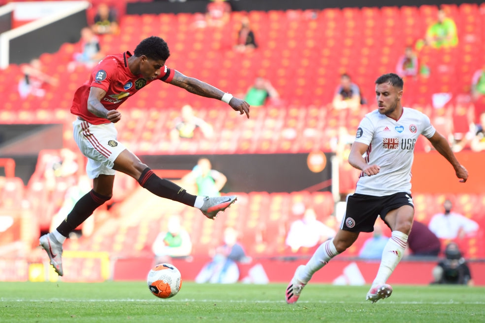 Rashford vs Sheffield
