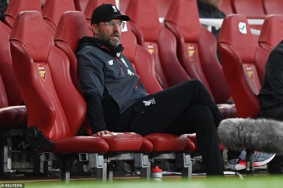 HLV Jurgen Klopp tức giận sau trận thua Arsenal hình ảnh