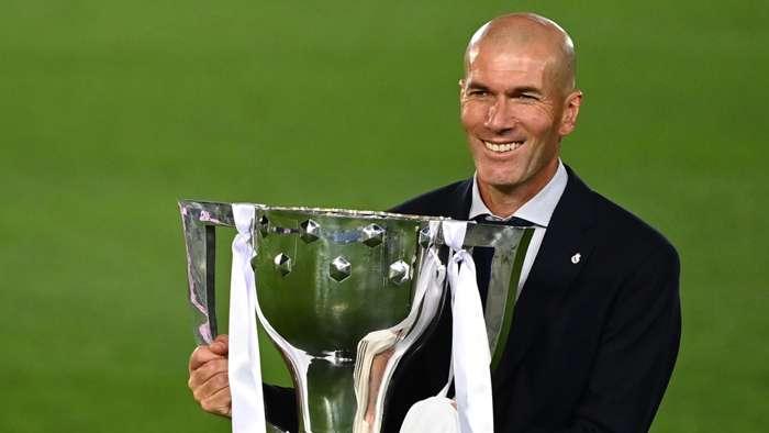 Real Madrid vô địch La Liga Sự mãn nguyện của Zinedine Zidane hình ảnh