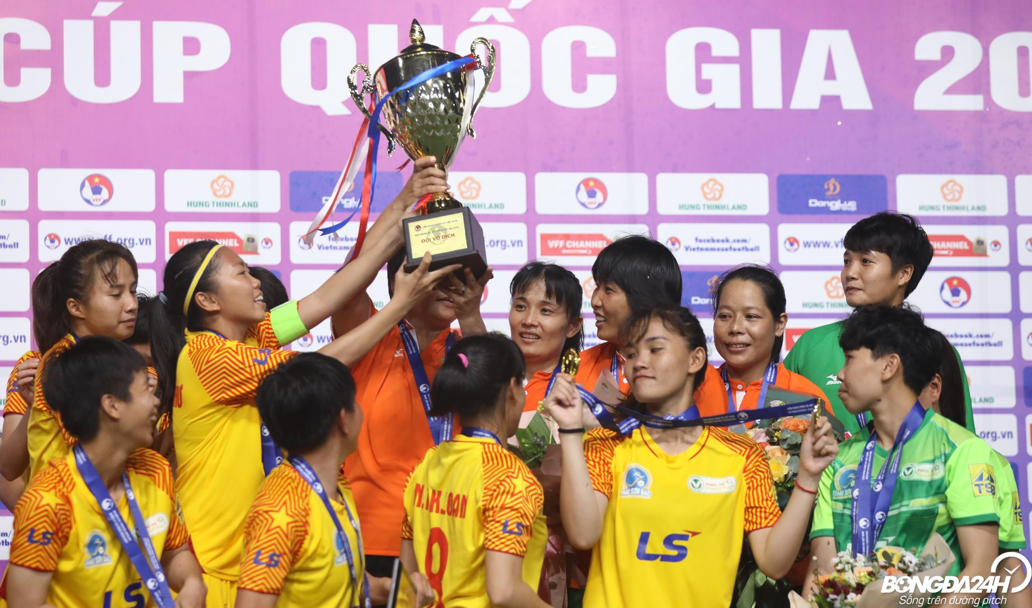 nu TP Ho Chi Minh vo dich giai nu Cup quoc gia 2020
