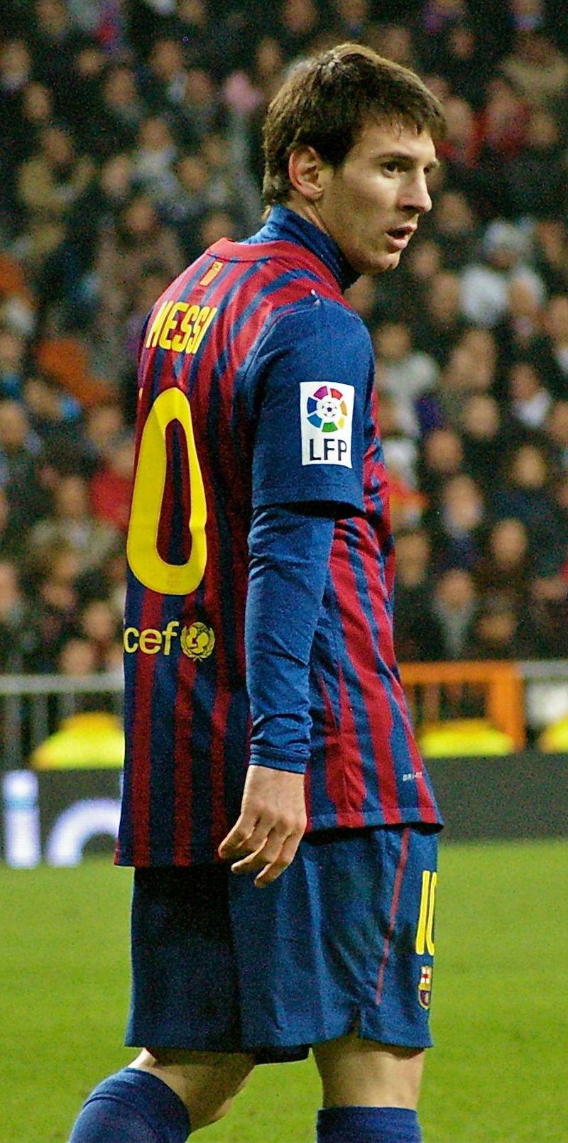 Messi trong tran gap Real Madrid tai Copa del Rey 2011–12