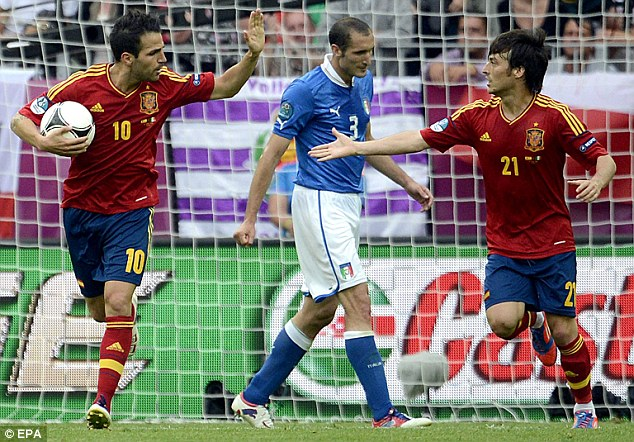Chung kết Euro 2012 Ý -Tây Ban Nha Ngày La Roja đi vào lịch sử hình ảnh
