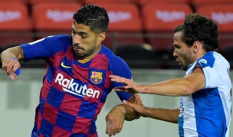 Barca thang Espanyol 1-0 Suarez