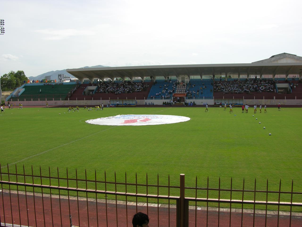 Sân vận động 19-8 Sân nhà của câu lạc bộ bóng đá Sanna Khánh Hòa hình ảnh