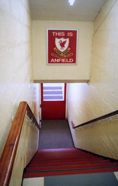 Sân vận động Anfield hình ảnh gốc