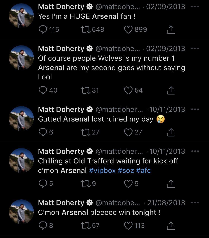 Vừa sang Spurs, Doherty xoá ngay dòng status 'tuổi trẻ chưa trải sự đời' hình ảnh gốc 2