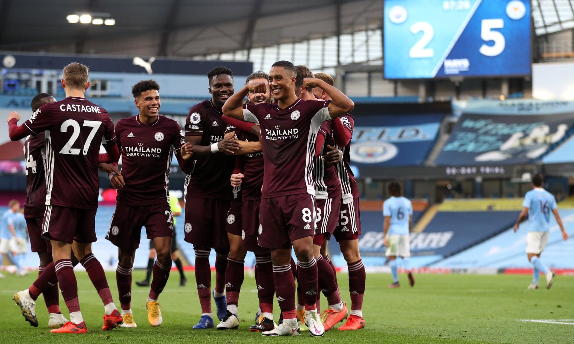 Hủy diệt Man City, Leicester tạo nên kỷ lục vô tiền khoáng hậu hình ảnh