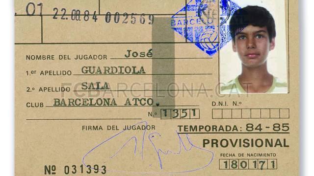 Pep Guardiola 50 tuổi Nhìn lại những thập kỷ phát triển hình ảnh gốc 2