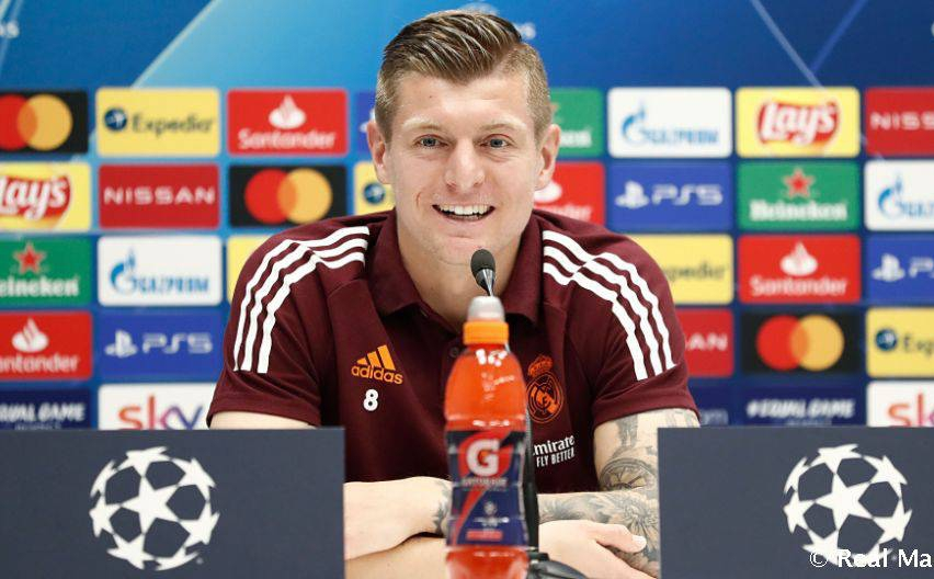Kroos speaking before the match against Atalanta