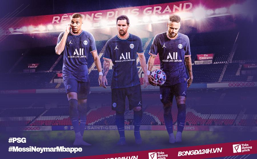 Messi Neymar Mbappe