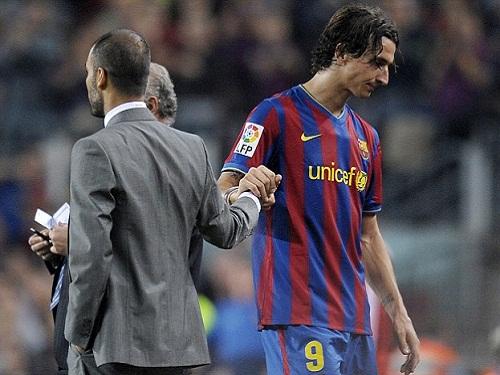 Guardiola và Ibrahimovic mẫu thuẫn gay gắt với nhau