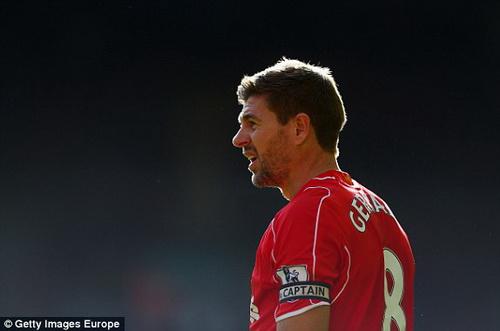 HLV Brendan Rodgers Steven Gerrard la cau thu co mot khong hai hinh anh
