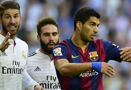 Luis Suarez đã có một trận đấu dưới sức mình