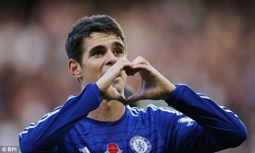 Chelsea Nho Fabregas Oscar da hoi sinh hinh anh