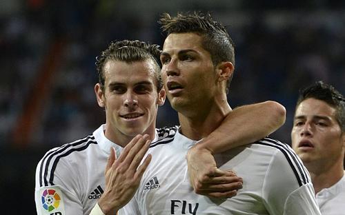 Bale muon hoc hoi hinh mau cua nguoi dan anh Ronaldo