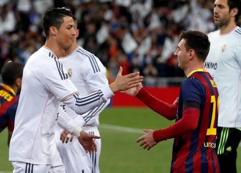 Ronaldo da co the la dong doi cua Messi