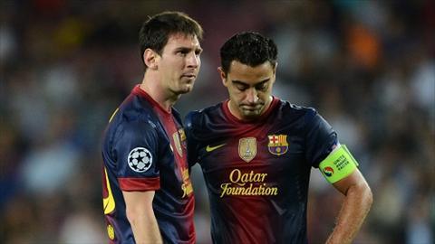 Messi can phai lam quen voi mot Barca khong Xavi hinh anh