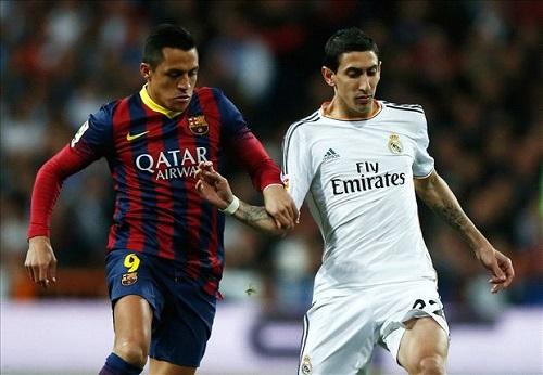 Sanchez vs Di Maria Tai hien Kinh dien o Emirates hinh anh