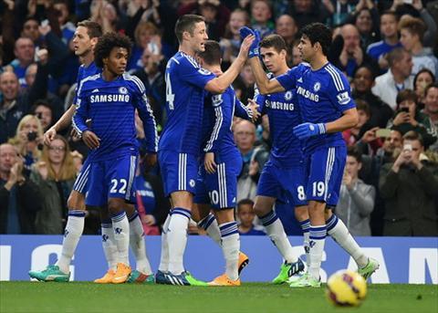 Chelsea lai thang de Mourinho lai no tung bung hinh anh