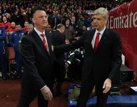 Du am dai chien Arsenal vs M.U Van Gaal may chua bi goi ...ga dien hinh anh