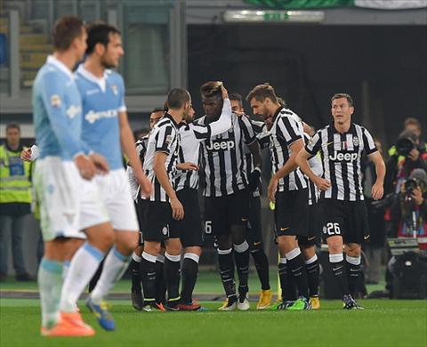 Lazio 0-3 Juventus Paul Pogba toa sang hinh anh