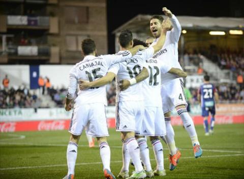Video ban thang Eibar 04 Real Madrid Vong 12 La Liga hinh anh