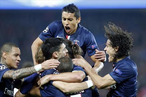 PSG vs Ajax Song sat Cavani Ibrahimovic hinh anh