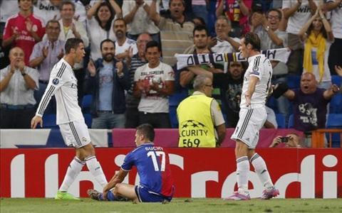 Gareth Bale lai len tieng ninh not Ronaldo hinh anh