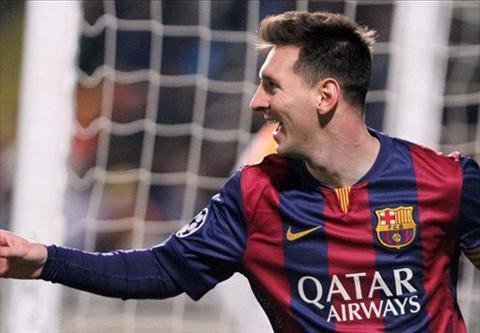 Lionel Messi phan khich sau khi viet lai lich su Champions League hinh anh