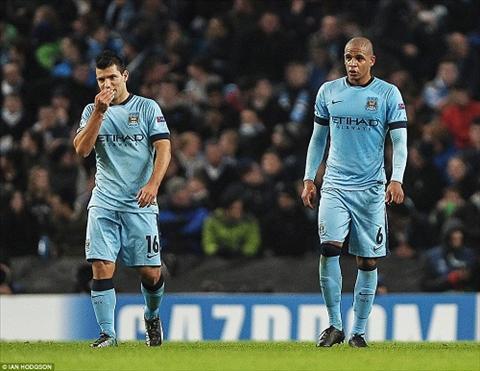 Man City bi loai Champions League hinh anh