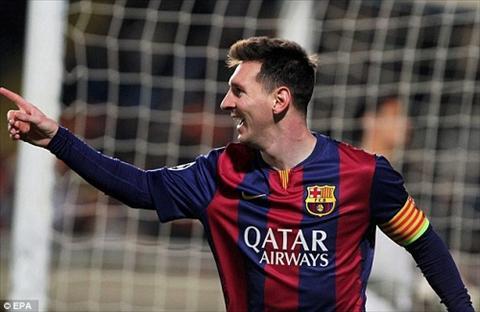 Messi chinh thuc pha ky luc ghi ban cua Raul tai Champions League hinh anh