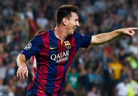 Messi pha ky luc o Champions League hinh anh