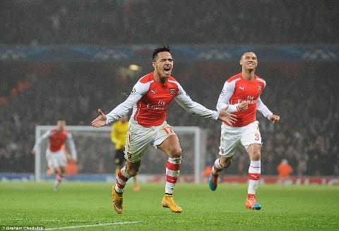 Arsenal thang Dortmund hinh anh 2