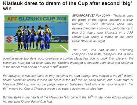 HLV Kiatisuk thach thuc ngoi vo dich AFF Cup 2014 hinh anh