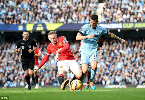 rooney manchester united manchester city