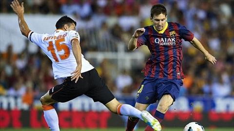 Valencia vs Barcelona (03h00 112) Thu thach that su o hang Doi hinh anh