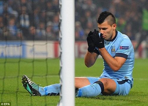 Aguero quyet tam gianh chuc vo dich Champions League cung Man City