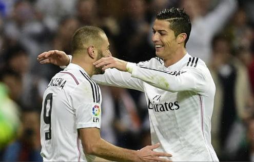 Benzema va Ronaldo dinh chan thuong lo Audi Cup hinh anh