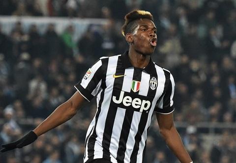 Paul Pogba cua Juventus hinh anh