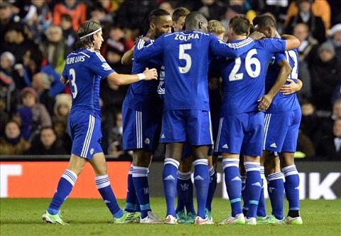 Premier League 2014-15 Chelsea vo dich, M.U can dich o vi tri thu 3 hinh anh